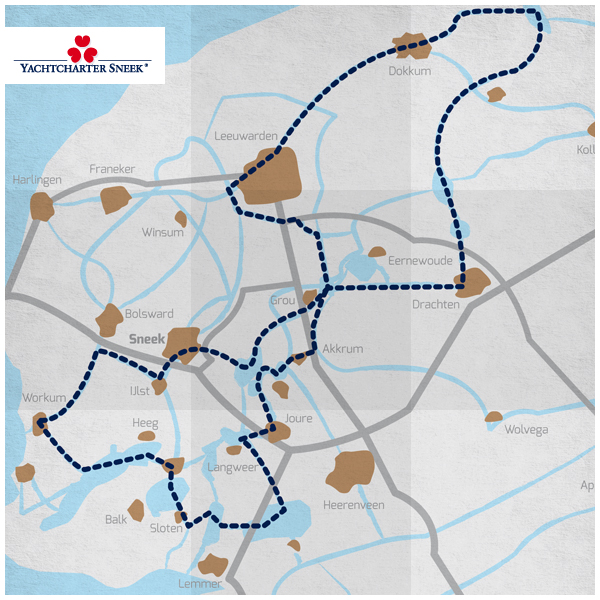 Friesland route