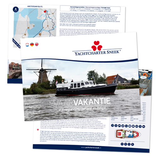 Yachtcharter Sneek folder