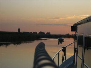 Hausboot fahren in Friesland